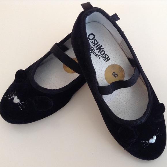 OshKosh B'gosh Other - OshKosh Velvet Mouse Flats for toodlers